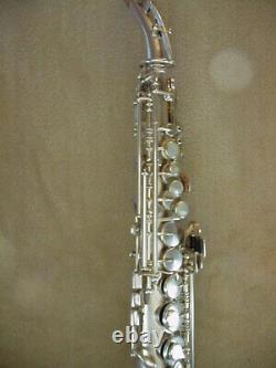1925 King Saxello With Original Case+key, Mouthpiece, Stand Beautiful