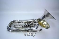 1926 Conn 5 Valve Euphonium Double Bell Vintage