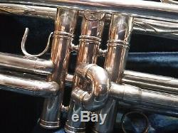 1937 Benge Chicago #558 with case. Legendary Horn Extremely Rare Find