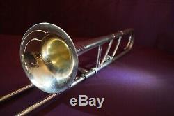 1937 Holton Revelation Model Professional Tenor Trombone-Elkhorn Wis