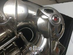 1944 Selmer Paris Balanced Action Alto 99% Brte Orig Silver, No Dents New Pads