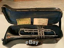 1947 Martin Committee Silver plated Excellent Condition Trumpet 159xxx
