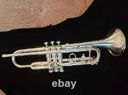 1971 Olds Recording Trumpet Silver, Pristine, One Owner