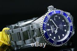 9204OBInvicta Pro Diver COIN EDGE bezel Blue Dial Stainless Steel Bracelet Watch