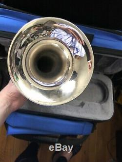 AUGUST $ALE $$$ YAMAHA XENO YTR8335RG S Bb Trumpet WOLFPACK BLUE GIG CASE DEAL
