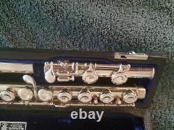 Antique WMS Haynes Flute #4481. Vtg 1918 Silver flute