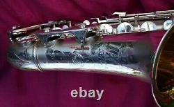 Arta Guban'Luxor Solo' Version 1, Tenor Sax, Silver #674k