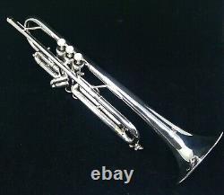 Austin Custom Brass Model 2RL Entry-Level Professional Trumpet in Silver Plate