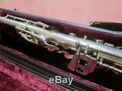 B&S WELTKLANG SOPRANO Saxophone Made in Germany GDR