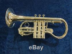 BESSON BE924R SOVEREIGN SOPRANO CORNET Silver-plate (Ex-Demo)