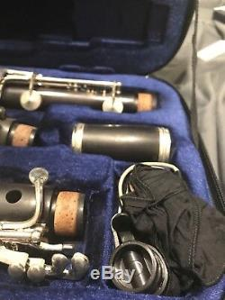 BUFFET Crampon R13 Bb Pro Clarinet w. Silver plated keys Case Included, Used