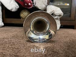 Bach 180S37 Stradivarius Series Bb Trumpet Silver Gold Brass Bell