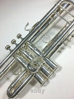 Bach 37S Professional Bb Trumpet Silver Plated