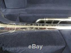 Bach Artisan AB190S Bb Trumpet, Silver, in box with tags