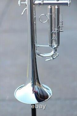 Bach LT180S77 Stradivarius New York #7 Bb Trumpet in Silver Demo Discount