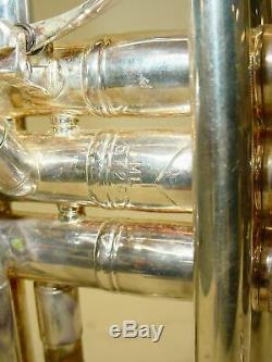Bach Model 37 Stradivarius Bb Trumpet with 1st Valve Slide Trigger with CASE & MP