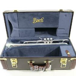 Bach Model LR180S37 Stradivarius Professional Bb Trumpet MINT CONDITION