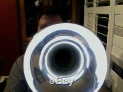 Bach Strad Trumpet model 37. Silver and in excellent condition. Make offer