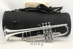 Bach Stradivarius 43 180S43 ML Trumpet Professional CUSTOM ENGRAVINGS TORPEDOBAG