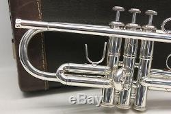 Bach Stradivarius 43 H 180S43 ML Trumpet Professional Horn LR25 Reversed Lead