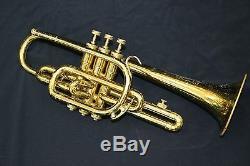 Bach Stradivarius Bb Trumpet #37 bell, #25 leadpipe, ML bore