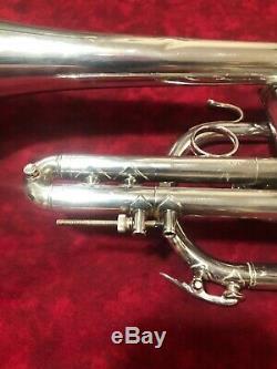Bach Stradivarius Cornet Model 37 With Trigger
