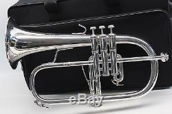 Bach Stradivarius Flugelhorn 183 Bb PRO Trumpet Professional SILVER L@@K