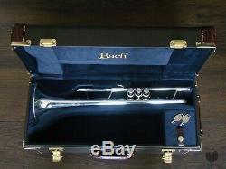 Bach Stradivarius LR180S43, ROUNDED TUNING SLIDE, case, GAMONBRASS trumpet