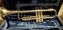 Bach Stradivarius Model 43 Silver Bb Trumpet With Extras