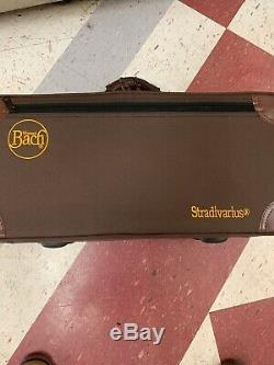 Bach Stradivarius Silver trumpet Model 72