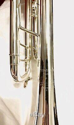 Bach Stradivarius Trumpet 180 ML 37 Re-Plated 1989 #3266, Megaton 1 1/4