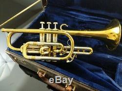 Bach Stradivarius cornet Mt. Vernon model 25 Bb Cornet- Large bore