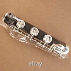 Band Professional Ebony Flute C Key 17 Open Hole Low B