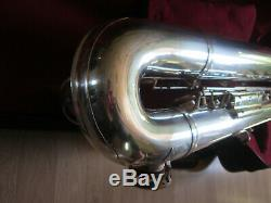 Bariton Sax Weltklang solist (B&S) Germany, fully serviced. Low A