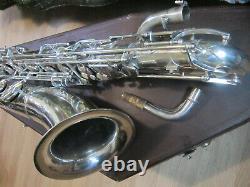 Baritone Saxophone Weltklang GDR Germany, low A