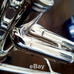Beautiful! 1974 Benge 3 MLP 0.464 bore Resno Tempered Bell GAMONBRASS trumpet