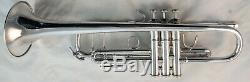 Beautiful 1998 Bach Stradivarius 180S37 Bb Trumpet Silver