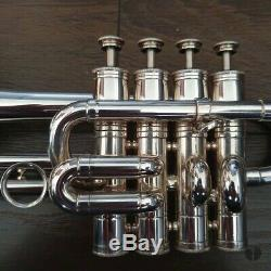 Beautiful! Henri Selmer Paris 365 Bb/A Piccolo Trumpet, case GAMONBRASS
