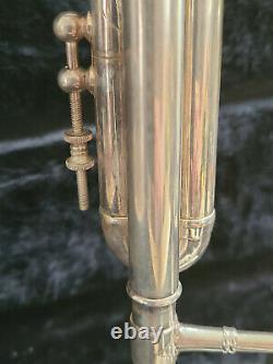 Benge Resno Tempered 3 Bell Custom Built Silver Plate Trumpet Super Cond