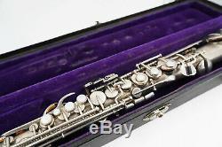 Buescher Vintage True Tone Straight Soprano Saxophone with Case S/N #229347