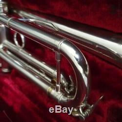 Burbank by Kanstul early model, case GAMONBRASS trumpet