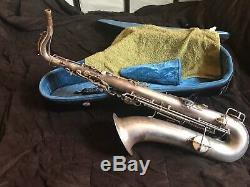 C. G. Conn Tenor Sax 1927 Silver Plated