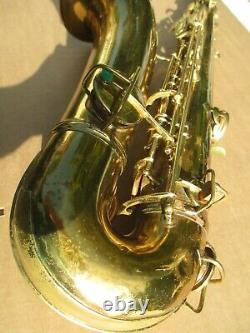 CONN CHU-BERRY Bb TENOR SAXOPHONE CIRCA 1928 DOES NOT PLAY SELLING AS IS