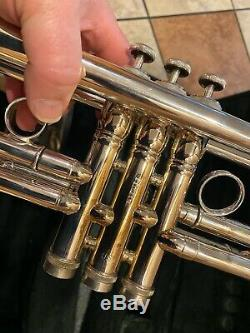 CONN VINTAGE ONE PROFESSIONAL Bb TRUMPET 1BR-46 ROSE BRASS BELL with extras