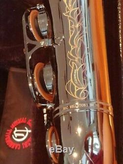 Cannonball Big Bell Series Tenor Saxophone Black Ice Nickel Plate BEAUTIFUL
