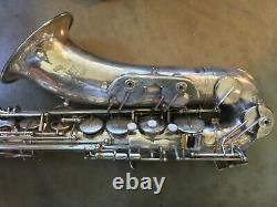 Cannonball Tenor Saxophone Big Bell Global Series Silver Finish