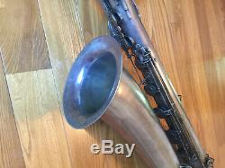 Cg Conn Silver Bass Saxophone