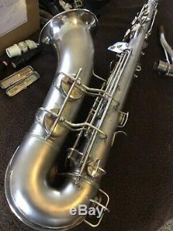 Conn 10m Tenor Saxophone in Satin Silver
