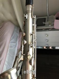 Conn 1930 ART DECO, New Wonder II Chu Berry Tenor Saxophone With Gold Bell