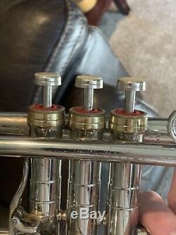 Conn CONNstellation Silver Trumpet 38B Model